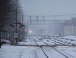 Freight meets Metra