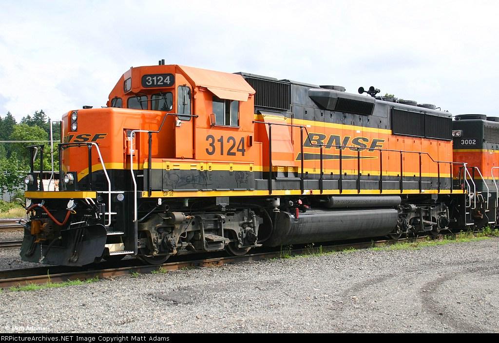 BNSF GP50 3124