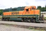 BNSF GP38AC 2116