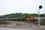 BNSF 7727 at Santa Fe Jct.