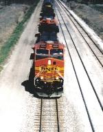 BNSF 4654 West