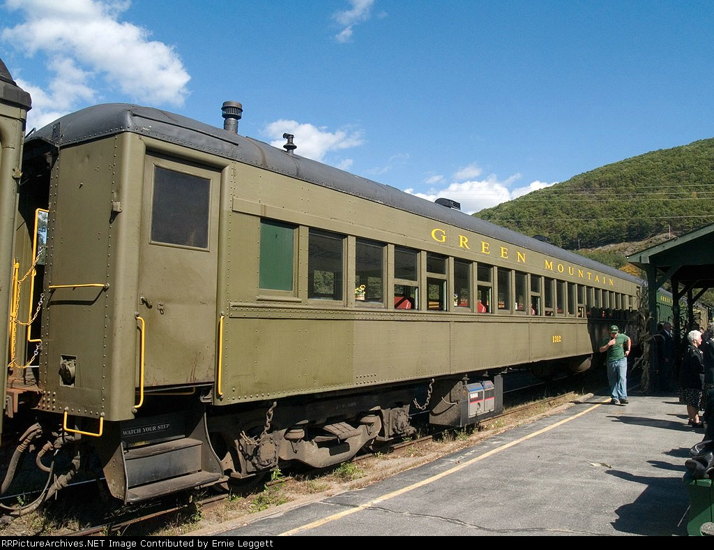 GMRC 1312 in the Excursion train at 2:30pm
