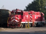 VTR 801 in the yard at 4:15pm