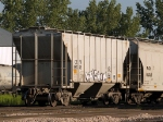 CEFX 86745 in the yard at 4:15pm