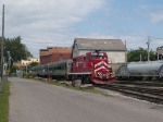 CLP 802 leads the weekend passenger service at 12:24pm