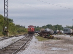 CN 5610 stops to release his manifest at 9:28am