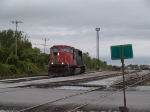 CN 5610 in a light power move to the office to get paperwork