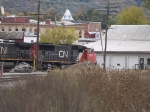 CN 5749 in the yard at 12:42pm