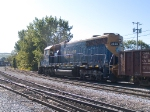 NECR 3855 moves towards the roundhouse at 9:26am