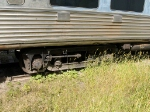 Truck on New York Central passenger car at 3:21pm