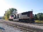 CN 5695 moving on to go around the wye at 8:54am 