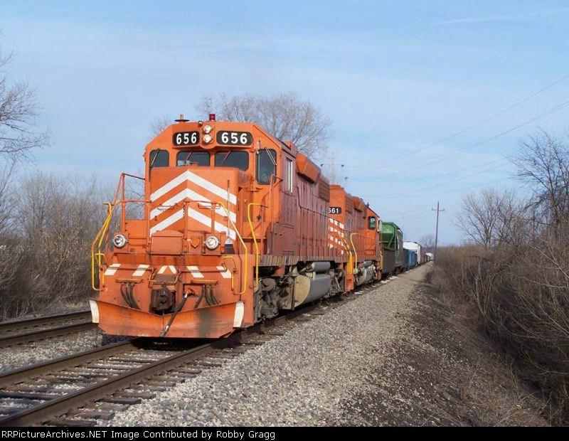 EJ&E 656