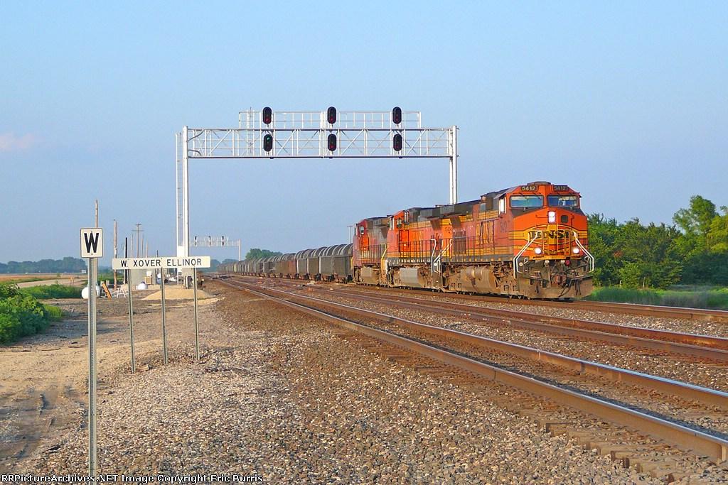 BNSF 5412 west