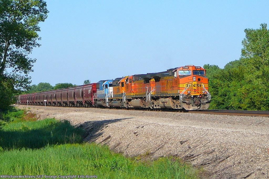 BNSF 5199 west