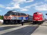 Metra 418 passes CN 103