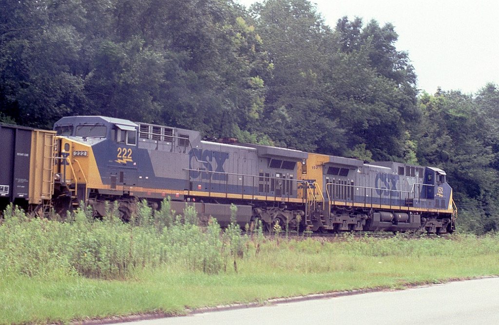 Back then brand new power leading the soon to be deleted Seminole Coal train via AN
