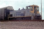 CSX 1152 switching autoracks from the port