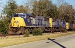 N001 with a rare duo of SD70MAC