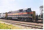IAIS 602 on a EB freight