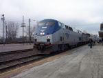Northbound Texas Eagle Train #22