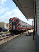 WSOR 11 passing the depot
