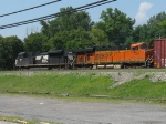 NS 2701 and BNSF 7505