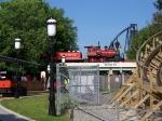 Six Flags' Steam Train