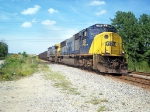 CSX 765 leads a SB coal train