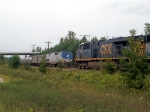 CSX 5278 and Amtrak 47