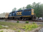 CSX 2563 works the yard