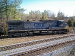 CSX 105 rounds the curve