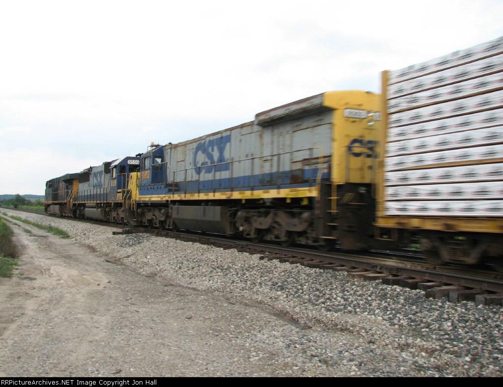 CSX 9303 trailing behind 8559 & 5391