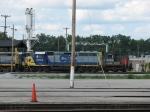 CSX 6054 & HLCX 6158 sitting at the engine house