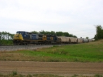 CSX 7815 & 8141 rolling west with Q335-04