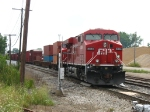 CP 8824 leading X500-03 through the crossovers at Plaster Creek
