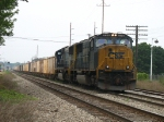 K910-14 rolling east behind CSX 776 & 4558