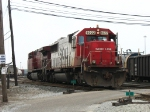 SOO 6022 & CP 9623 moving away from their train to make X500's pick up