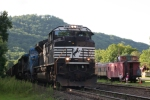 Loaded Bow coal train