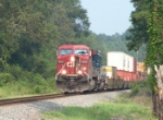 CP 9609 with no A/C in typical Georgia summer heat and humidity.