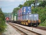 FXE 4065 - KCS 3964 Train meet