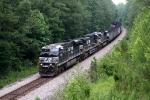NS WB Hopper Train