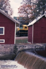 NYS&W F45 3638 at Baird's Farm
