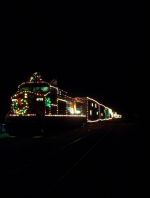 CP 9772 on the Holiday Train