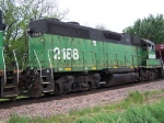 New to this Site: BNSF 2188 (GP38 or Something Like it)