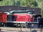 BHC 63 Rests in the Black Hills Central RR Yard