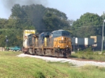 CSX 5217 running a little rich