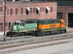 BNSF 1501 and 2294