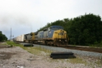 CSX 7713 gets underway