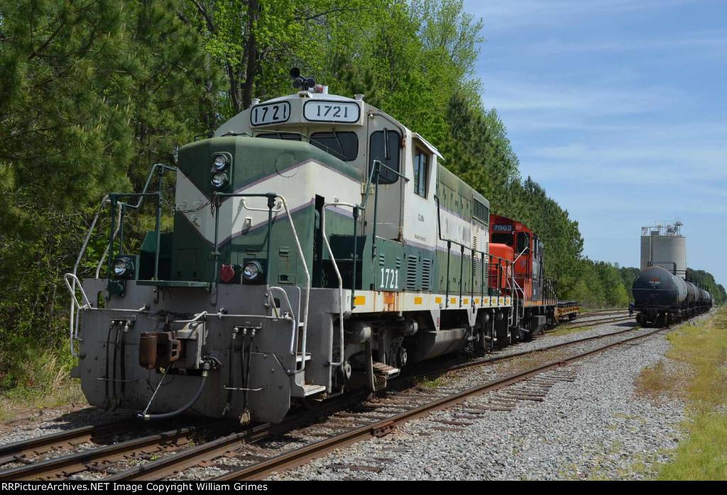 Carolina Coastal's Nash County Railroad
