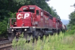 CP 6017 waiting for the green light